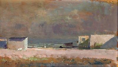 Fishing Huts, Beach at Hythe
