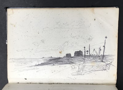 Hythe Beach, Martello Towers and Ranges