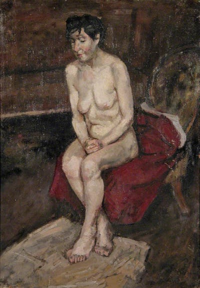 Nude, 1954, Royal College of Art Collection