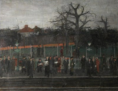 Kidbrook Station, 1954, Royal College of Art Collection