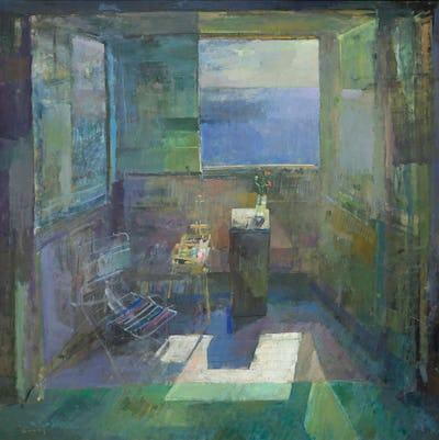 "Studio, Hythe, 48"" × 48"""