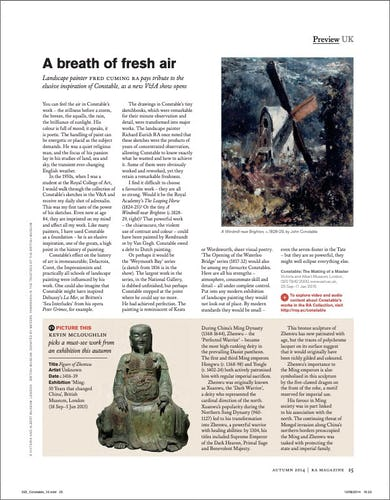 RA Magazine, Autumn 2014
