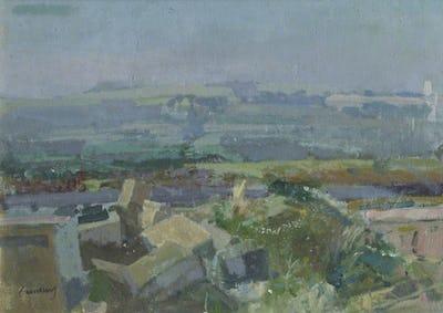Kent Landscape, July, St John's College, University of Cambridge Collection