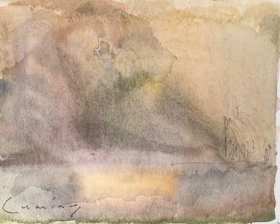 Cornwall, Cloud Study