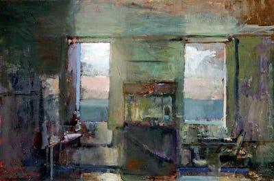 Veranda, Evening, Williamson Art Gallery & Museum Collection