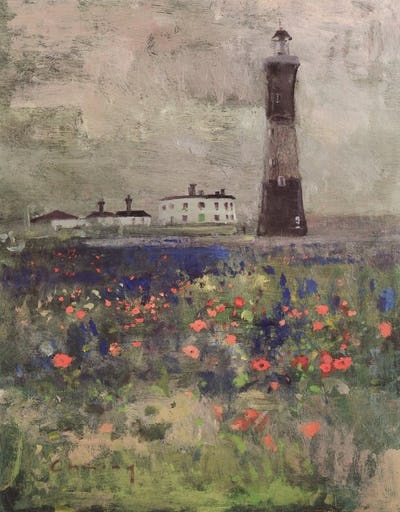 The Old Lighthouse, Dungeness, 1985