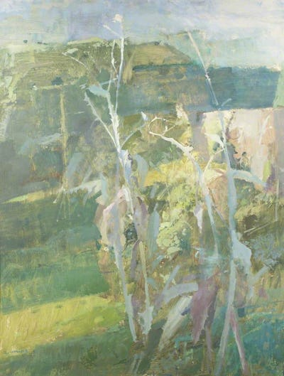 Thistles, 1976, Abbot Hall Art Gallery Collection