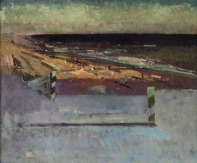 """Winchelsea Beach, 1998, 20"""" × 24"""""""