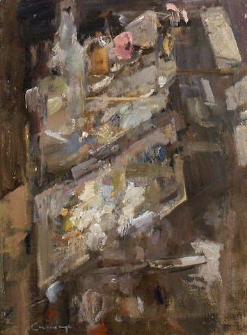 """Studio Still Life, 1980, 15"""" × 12"""""""