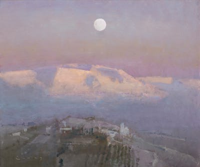 "Tuscan Landscape, 20"" x 24"""