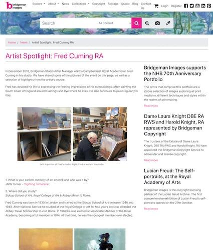 Bridgeman Images: Artist Spotlight