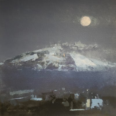 Etna, 2011, Image and paper size: 30.5 x 30.5 cm