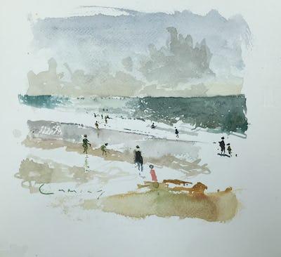 Surfers, Sennen Cove