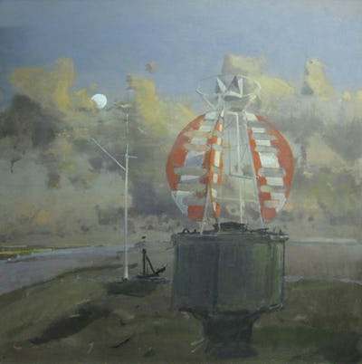 The Buoy – Rye Harbour, Rye Art Gallery Collection