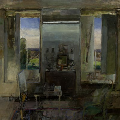 Studio, Early Morning, 1968, Towner Collection