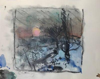 Dawn Garden, Winter