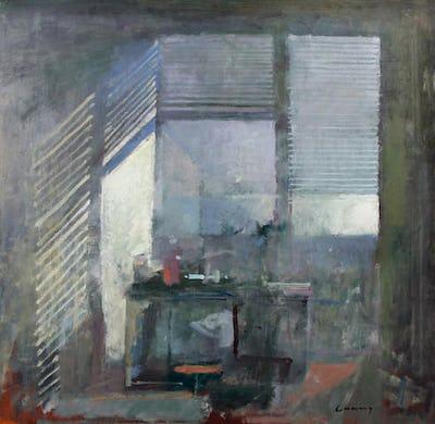 """Studio Interior, 24"""" × 24"""""""