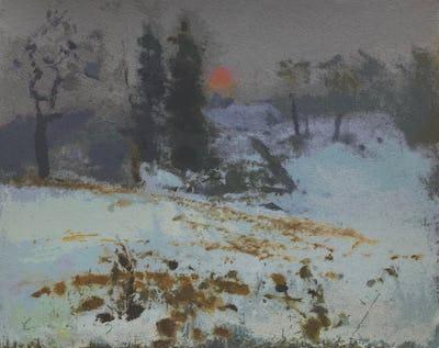 Winter Landscape, 2004, 25.5 x 32 cm