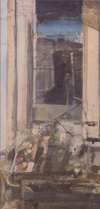 Evening Window, Egerton House, 1964