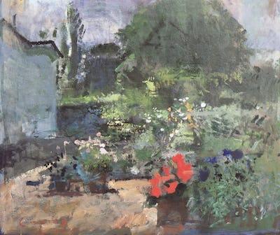 Garden at Iden, 1989
