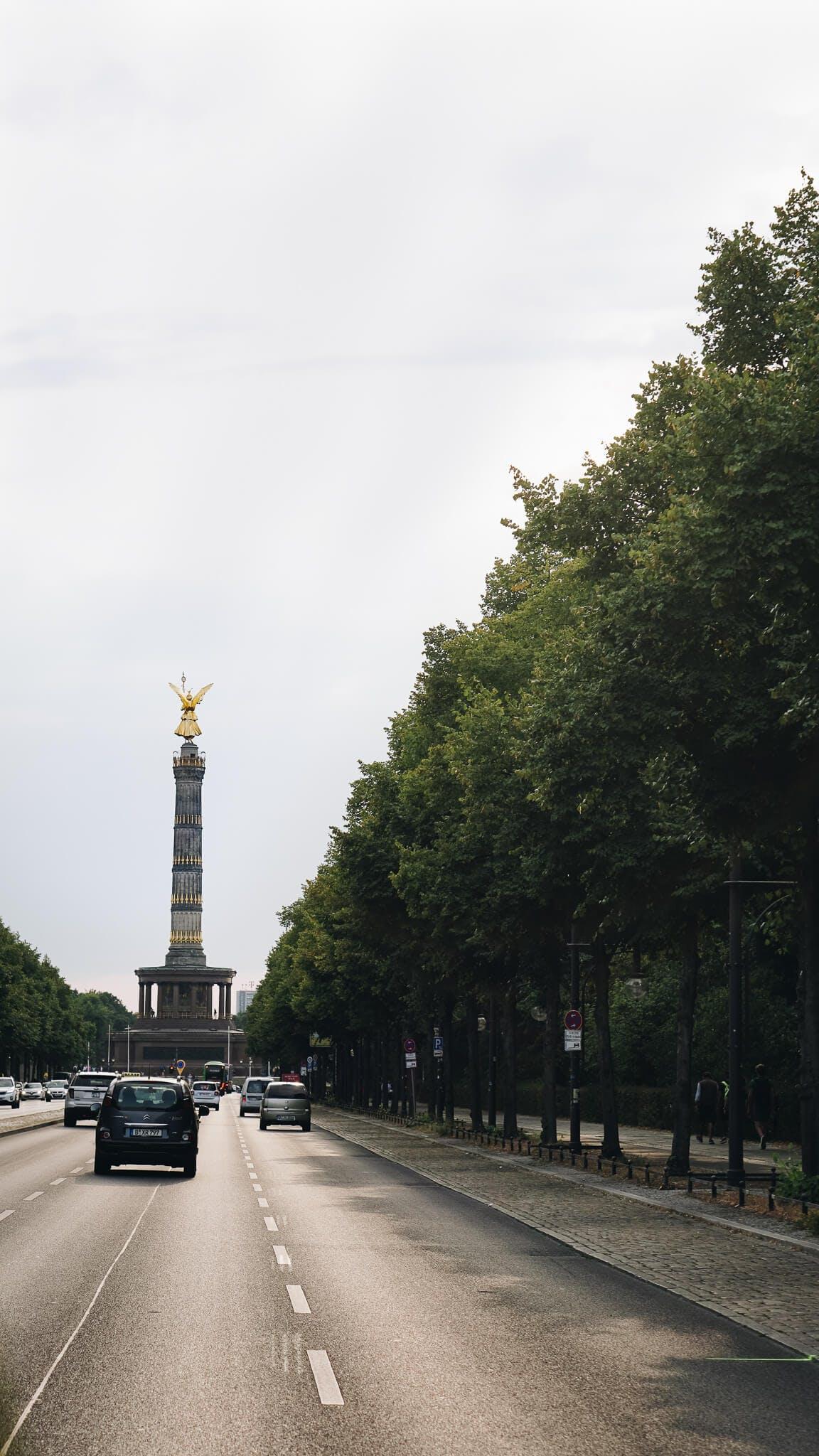 Blick auf die Siegelsäule in Berlin