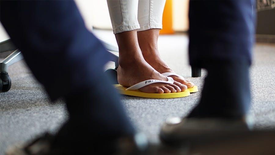 Friday flip flops