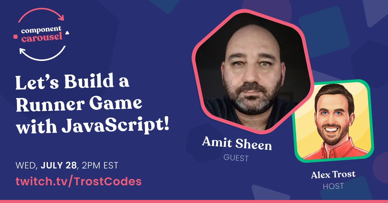 Building an Infinite Runner Game with JavaScript! with Amit Sheen