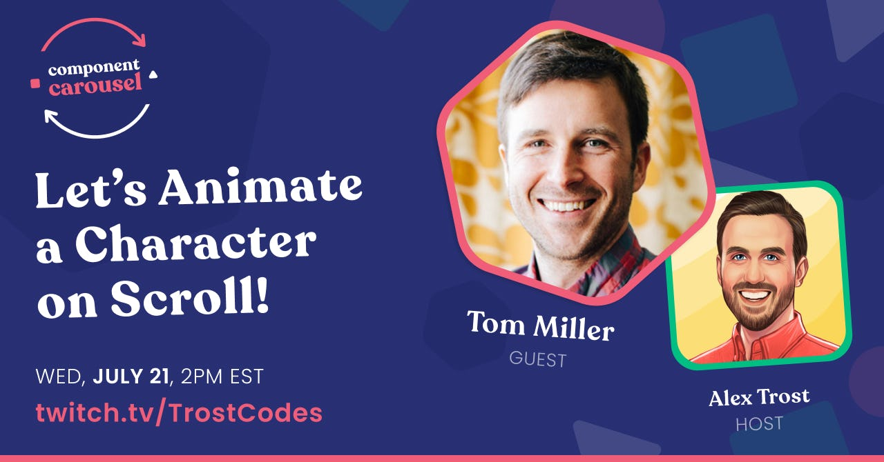 Let's Animate a Character on Scroll! with Tom Miller