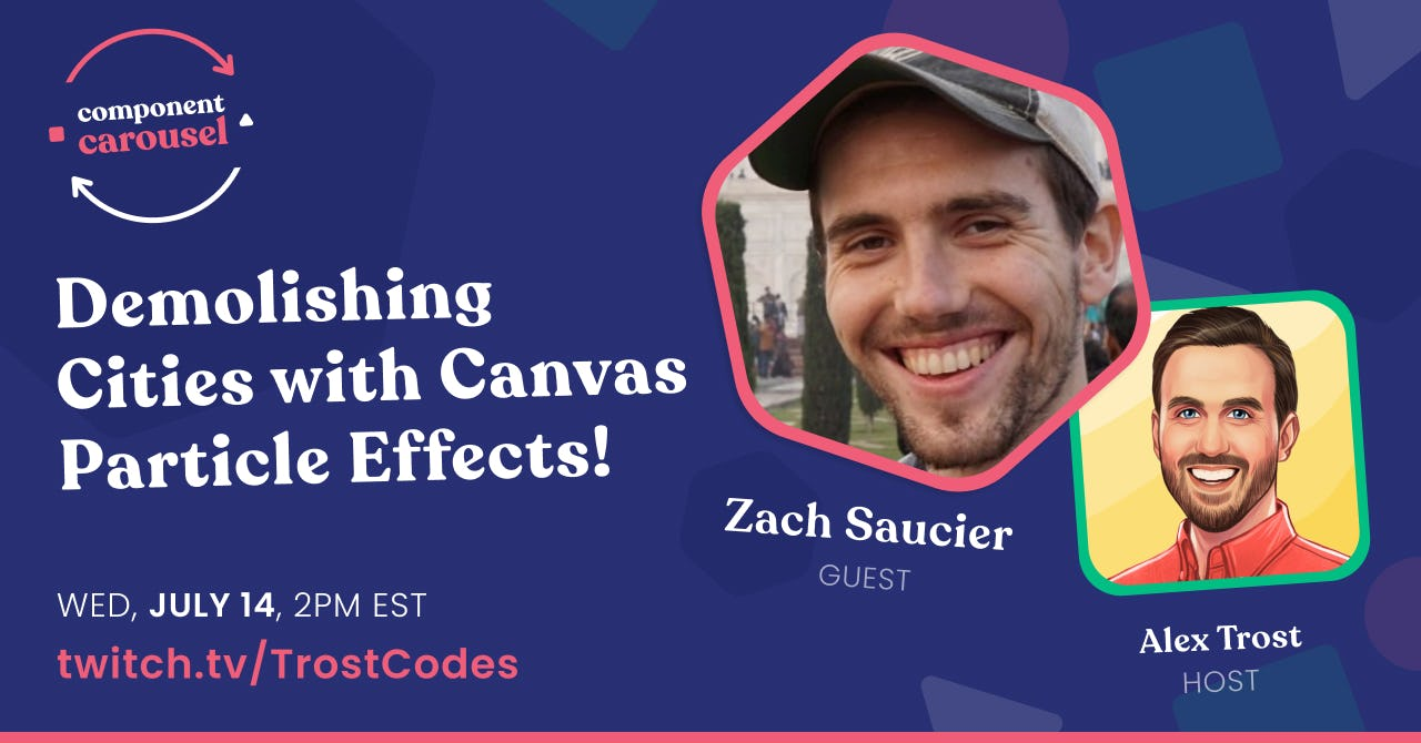 Demolishing Cities with Canvas Particle Effects! with Zach Saucier