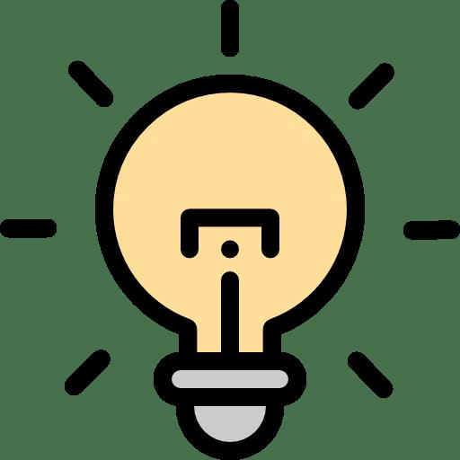 lightbulb turning on