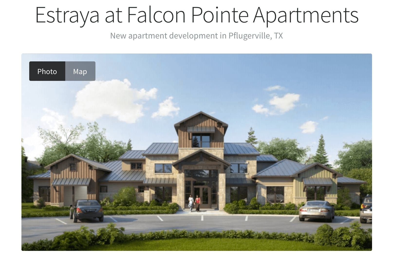 Estraya at falcon pointe apartments