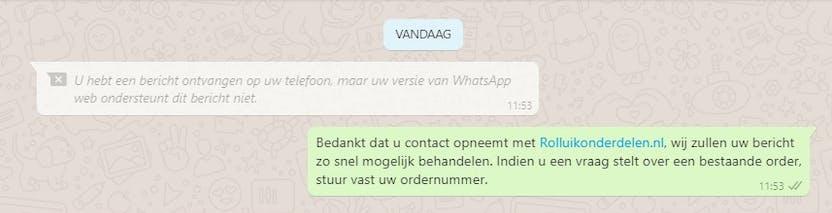 whatsapp foutmelding bericht ontvangen whatsapp web desktop ondersteunt dit bericht niet