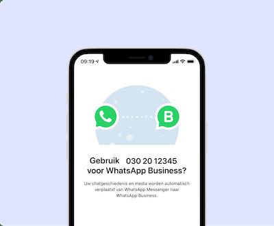 WhatsApp Business vast telefoonnummer