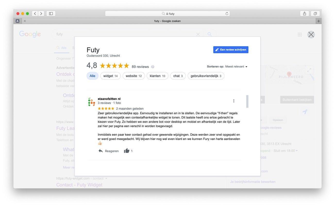 google review link maken stap 8