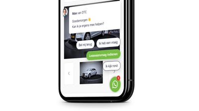 dtc whatsapp faq bot website phone