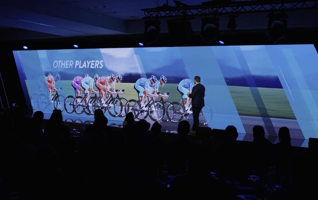 Presentaties en bumpers voor conferentie