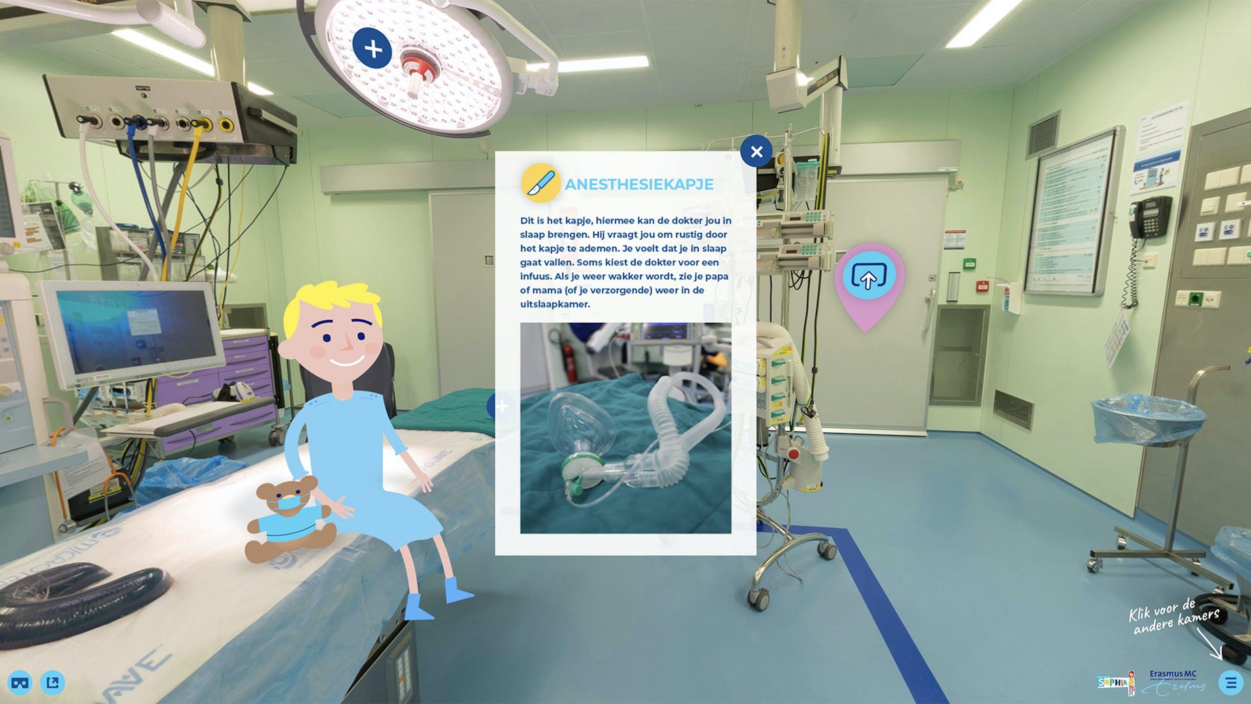Operatiekamer Erasmus VR