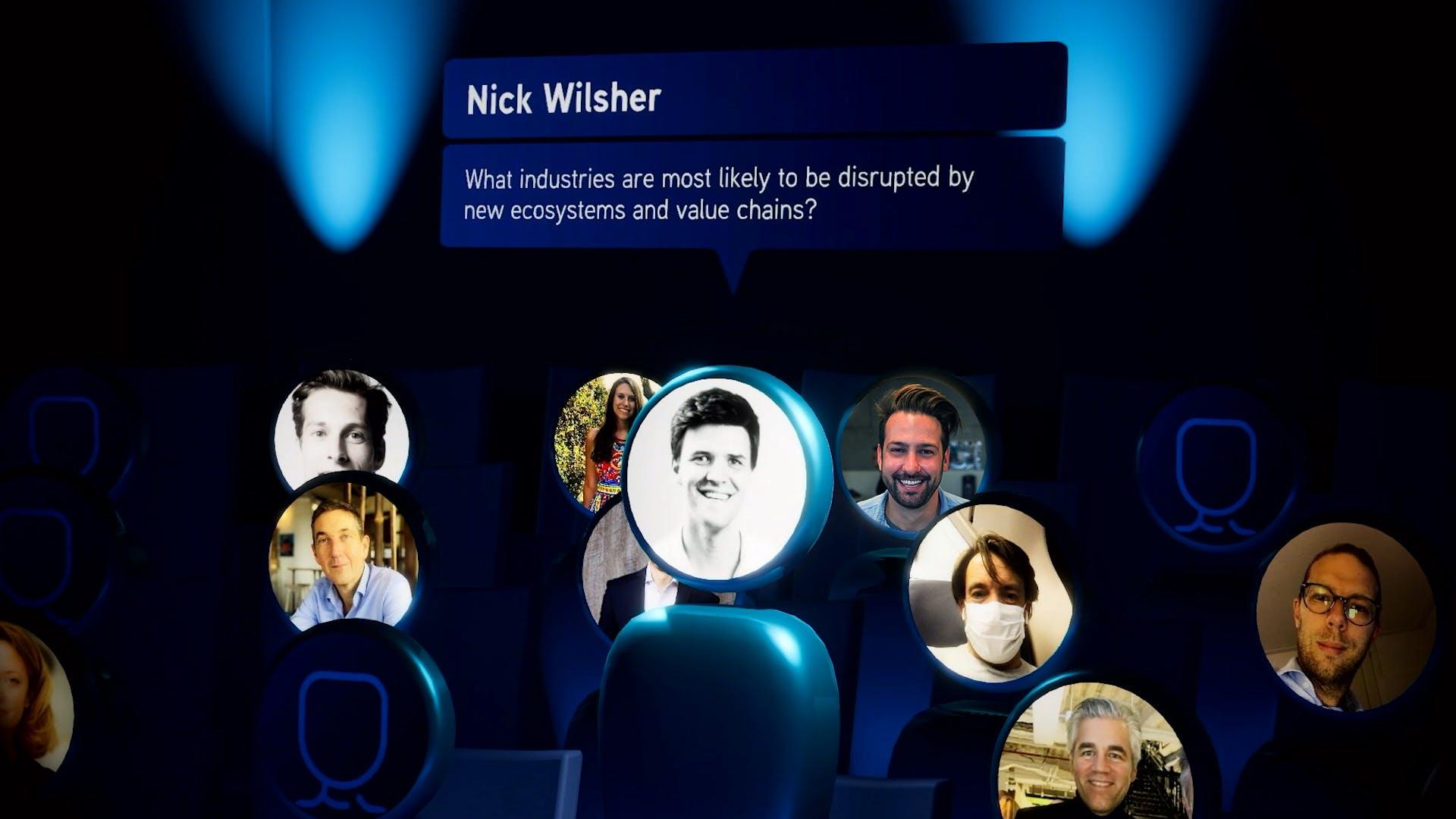 Interactie met publiek via smartphone
