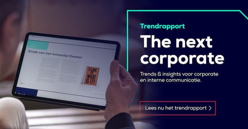 Trendrapport Corporate communicatie