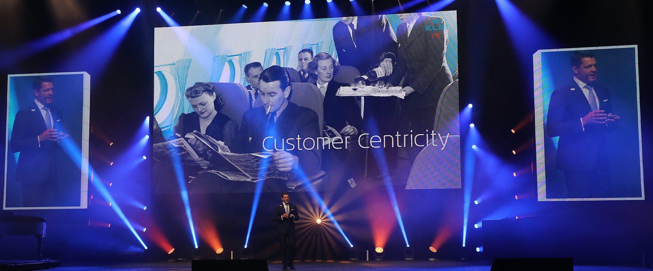 Presentatie Pieter Elbers KLM 100 Jaar event
