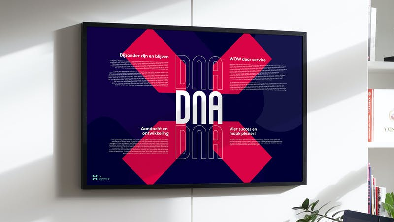 DNA van FX Agency