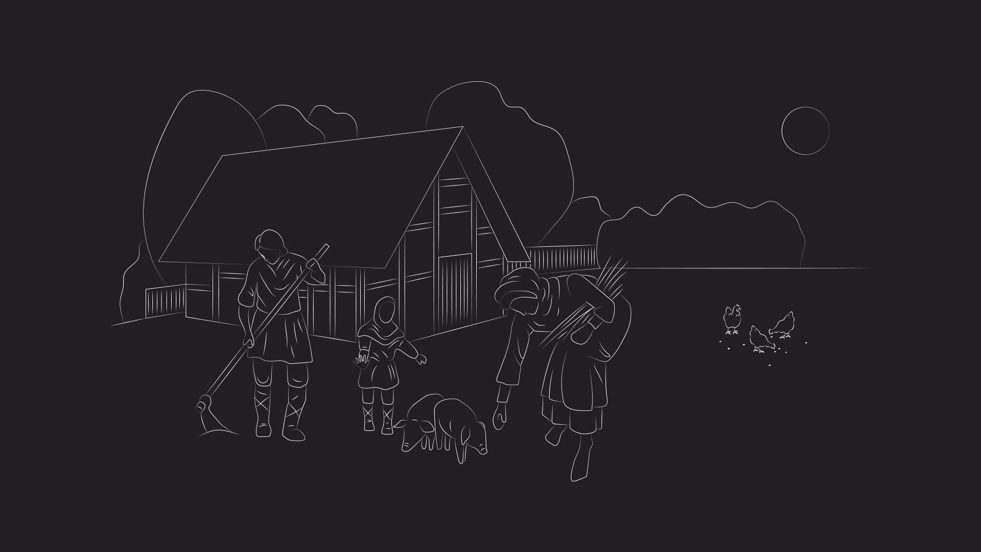 Esrum Abbey Illustration Thumbnail