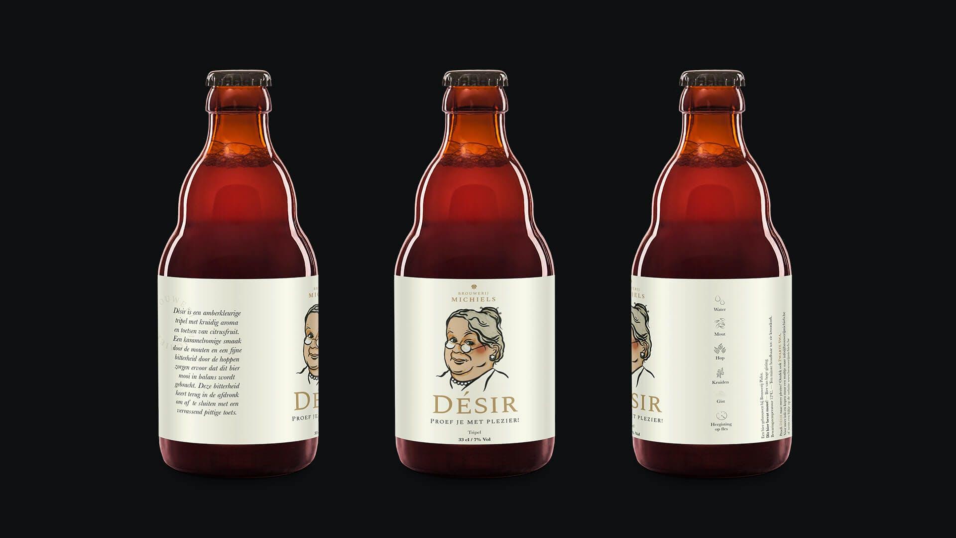 Desir Beer Three Bottles