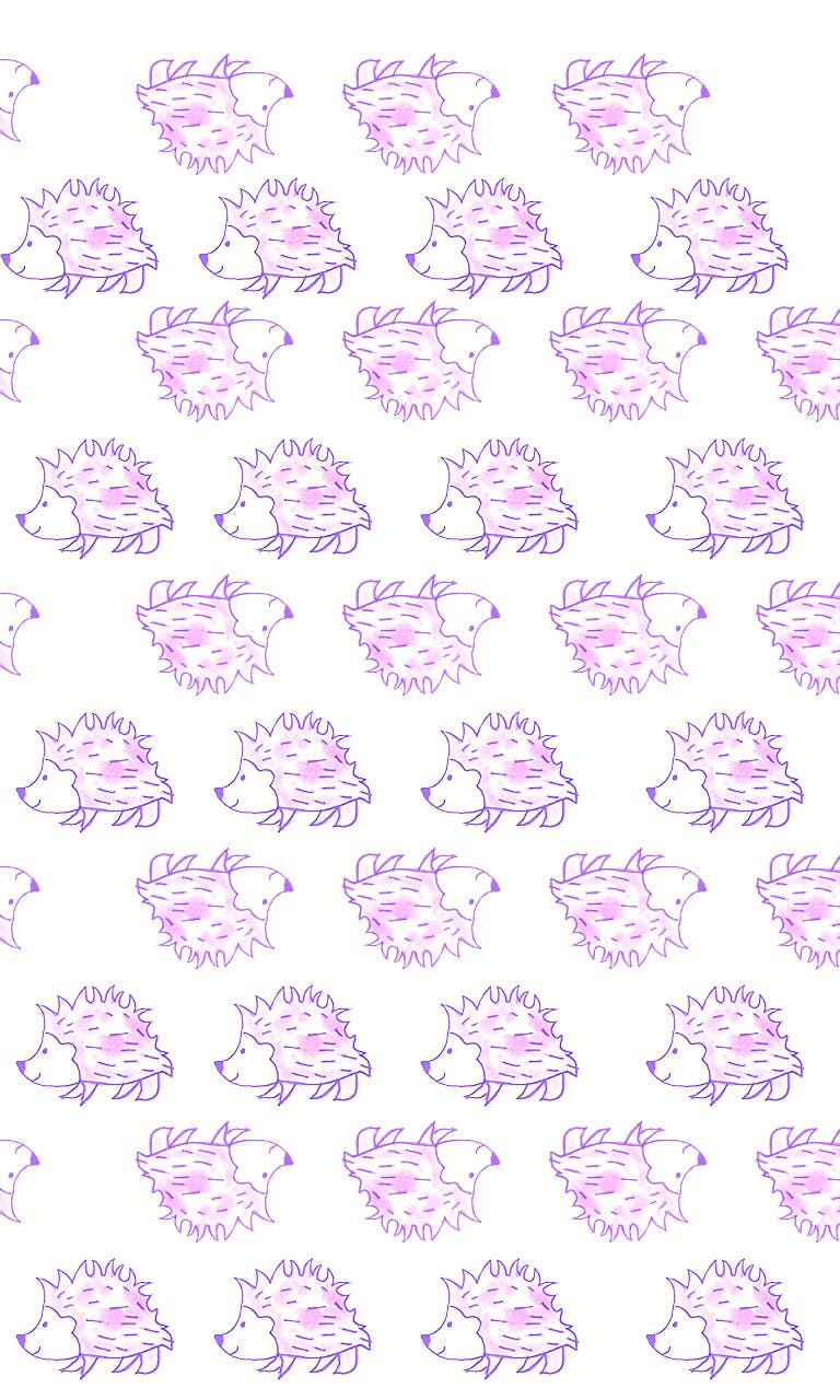 Garitma, fondo de pantalla para celular patrón de cuerpo espín Puntitas, dibujo marcador sobre papel