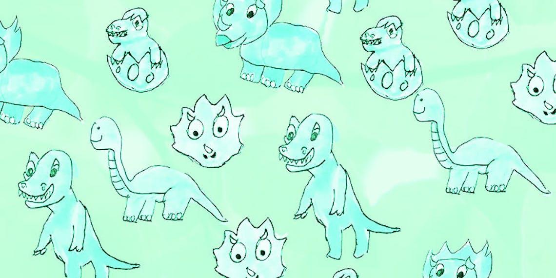 Fondo de pantalla de dinosaurios