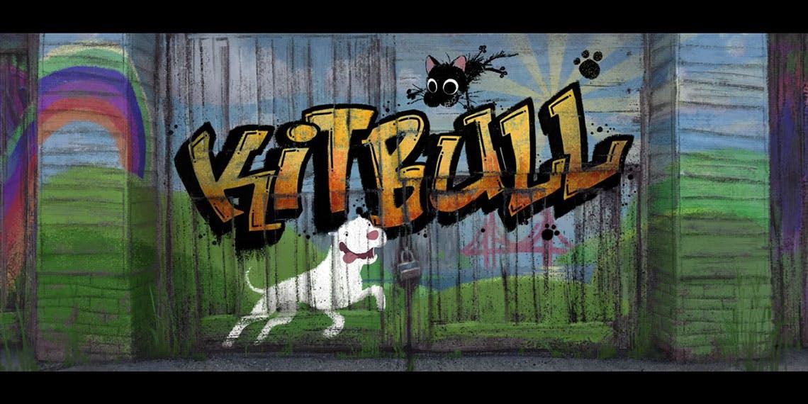 Portada de Kitbull cortometraje de Pixar.