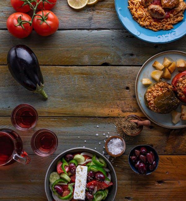 Seulement les meilleurs plats cuisinés de la Grèce!