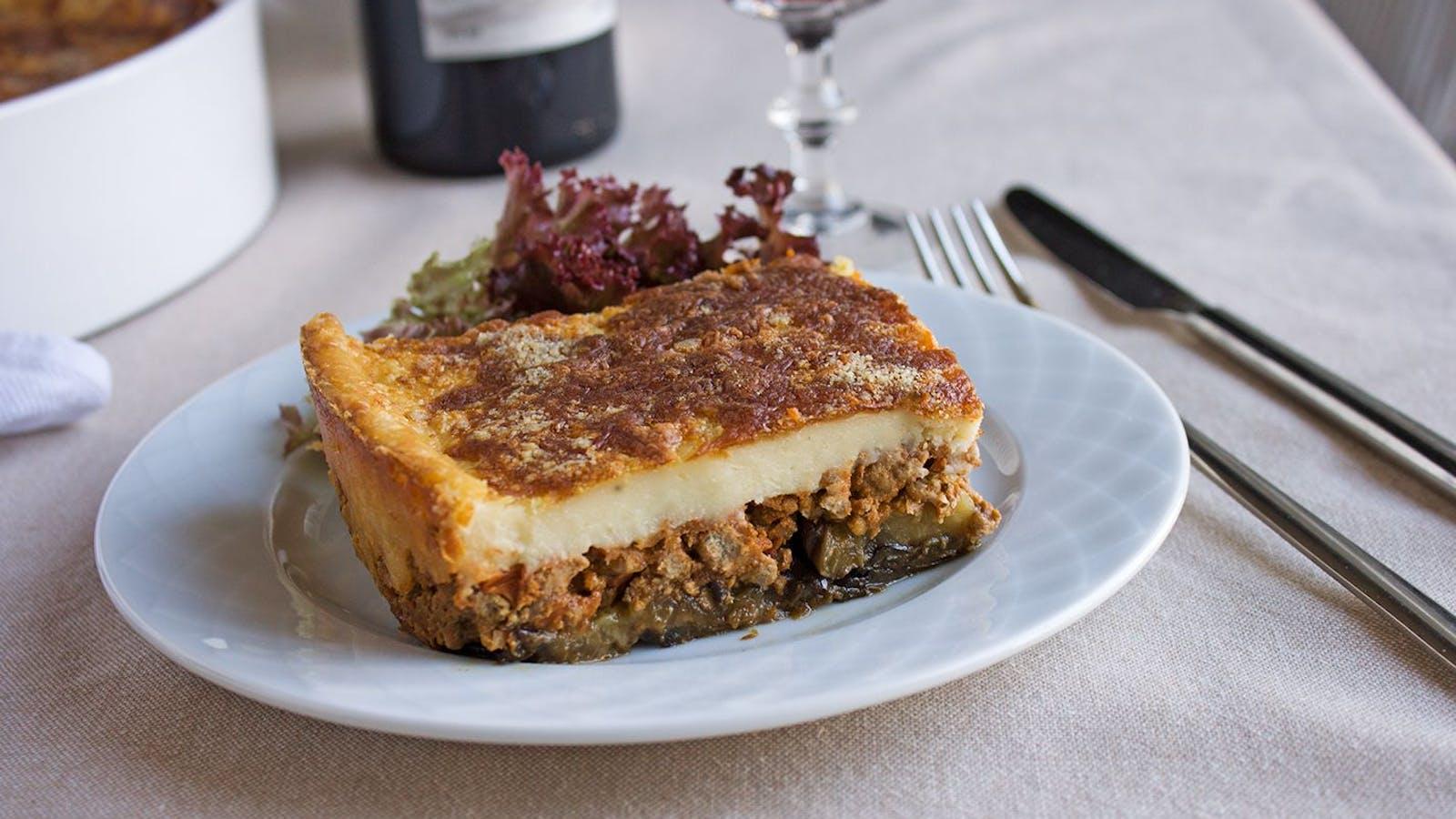 Moussaka recipe: how to cook easy moussaka