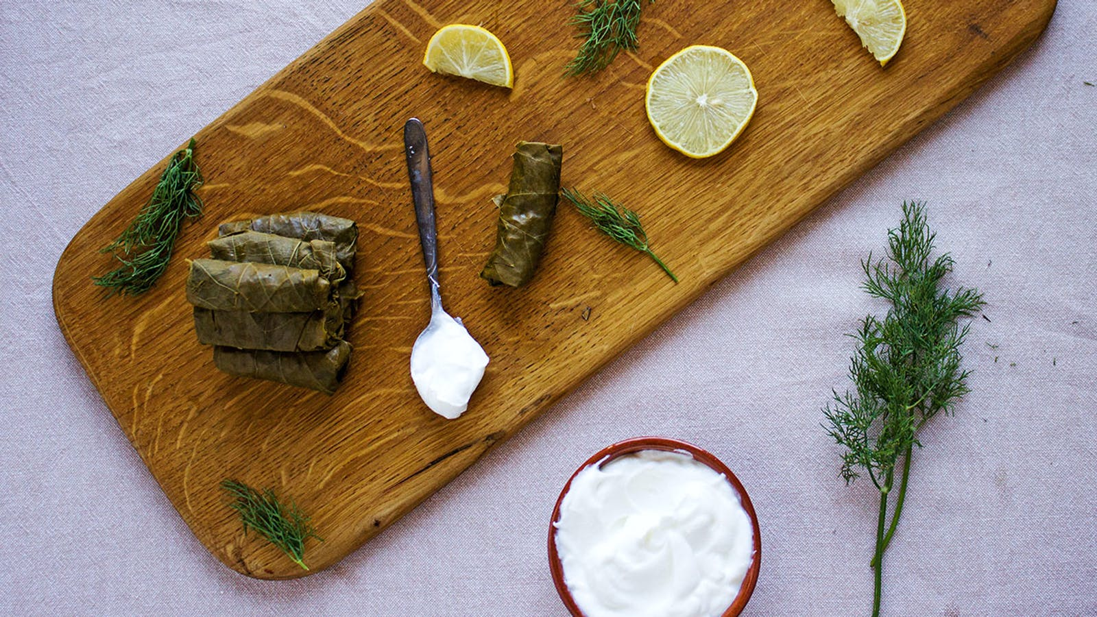 Dolmades, the traditional Greek recipe