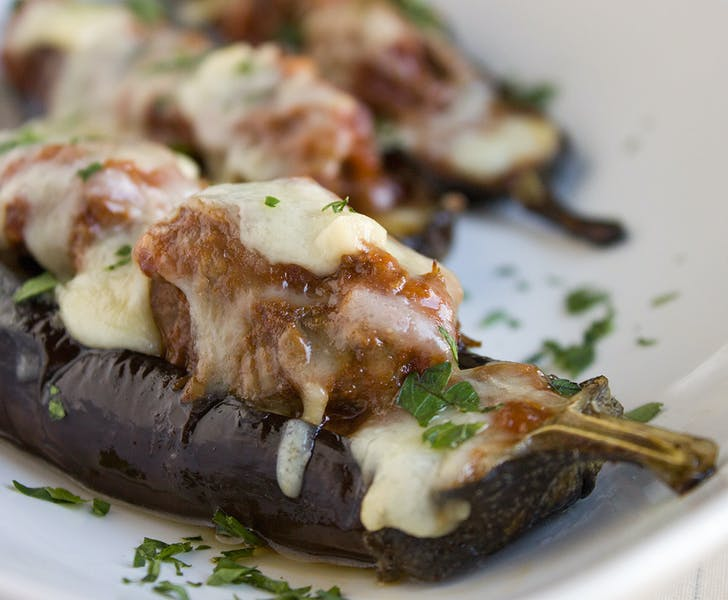 Naxos and the wonderful beef and eggplant bake